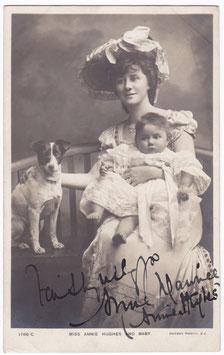 Annie Hughes (Mrs Edmund Maurice) Rotary 1766 C. Signed postcard