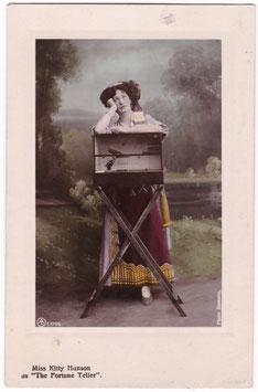 "Kitty Hanson. The Fortune Teller. ""Havana"" Aristophot E 1768"