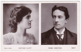 Gertrude Elliott and Forbes Robertson. Philco 3044 F