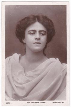 Gertrude Elliott. Rotary 237 O