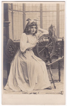 Mabel Love. Rotary postcard