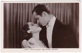 Robert Montgomery and Norma Shearer. Film Partners P 27
