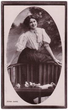 Zena Dare. Davidson postcard