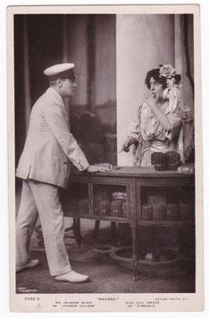 "Leonard McKay and Evie Greene ""Havana""Rotary 7432 D"
