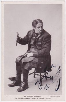 "George Barrett ""Mother Hubbard"" Grosvenor Series 44. Signed postcard"