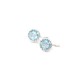 OH219.BT. Blaue Topas & Silber 925