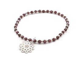 13695. Granat & Silber 925
