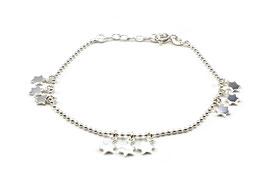 13766. Armband aus Silber 925 mit Sternen