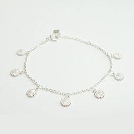 ABS80S. Armband Silber 925