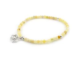 14180. Gelbe Opal & Silber 925