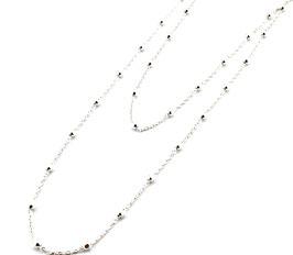 C0097.75. Halskette Silber 925