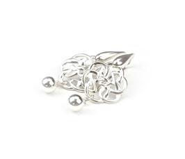 13559. Ohrringe Silber 925