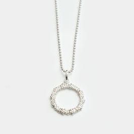 """12010.00420.KT. Halskette mit Anhänger """"Circle"""""""