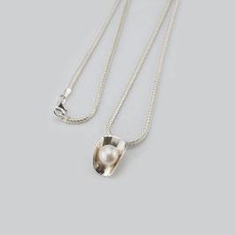 MY23. Halskette Silber 925 & Zuchtperle