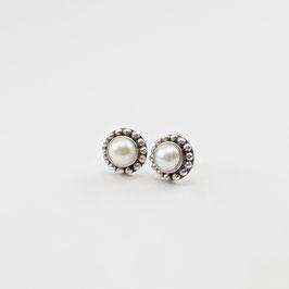 13578. Süsswasser Zuchtperlen & Silber 925