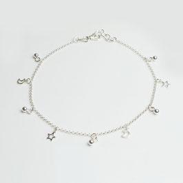 141001.1. Fusskette Silber 925