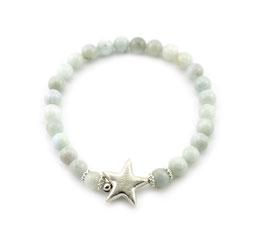 14206. Armband Aquamarin & Silber 925