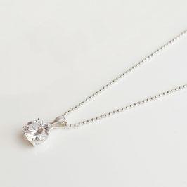 SIK10.45.CHA254. Halskette Silber 925 & Zirkonia