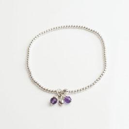 14265. Armband Silber 925 & Amethyst