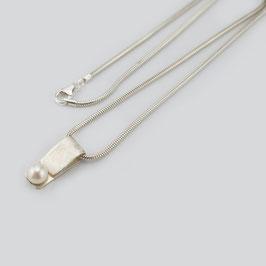 MY26. Halskette Silber 925 & Zuchtperle