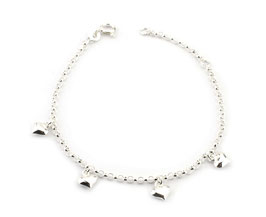 ABS54. Armband Silber 925
