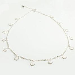 SIKS27. Halskette Silber 925
