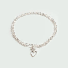 ABS96. Armband Silber 925