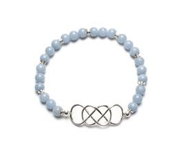 14089. Armband Angelit & Silber 925
