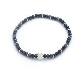 14122. Saphir & Silber 925