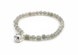 14177. Armband Labradorit & Silber 925