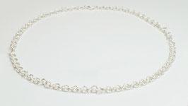 SIK10M. Halskette Silber 925 matt