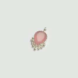 O.0217.AWAH. Silber 925 & rosa Achat