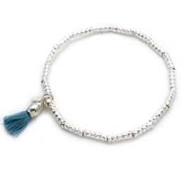 14113. Armband Silber 925 mit Zottel