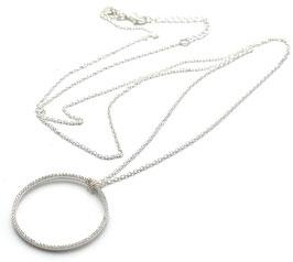 SN01.3075.CZ. Lange Halskette mit Anhänger