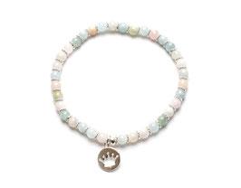 14073. Armband Beryll & Silber 925