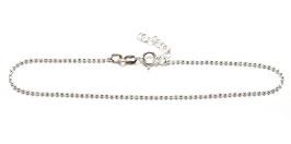 SA9263. Fusskette Silber 925