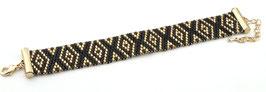 Mode Armband aus Toho Rocailles