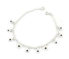ABS30. Armband Silber 925