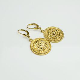 OHAH63. Ohrringe Silber 925 vergoldet