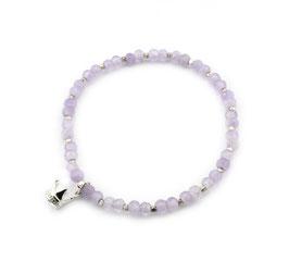 14220. Armband Amethyst & Silber 925
