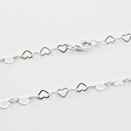 13657. Halskette Silber 925
