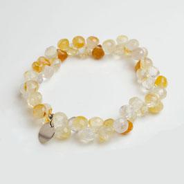 14343. Armband Gelbe Quarz