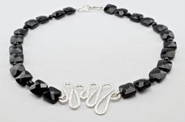 MY50. Onyx & Silber 925