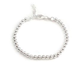 14042. Armband Silber 925 facettiert
