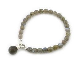 14205. Armband Labradorit & Silber 925
