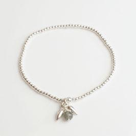 14267. Armband Silber 925 & Labradorit
