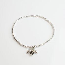 14266. Armband Silber 925 & Rauchquarz