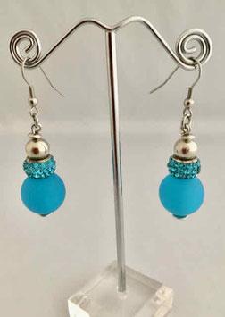 Boucles d'oreilles - Turquoise 2