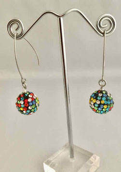 Boucles d'oreilles - Multicolore 1