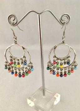 Boucles d'oreilles - Multicolore 2